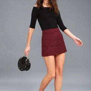| lulus | mini skirt